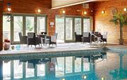 Indoor Pool Sitting Area