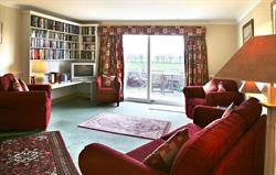 Sitting room and westerly terrace