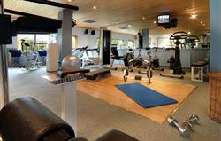 A wll equipped gym