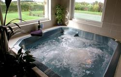 The child-free Jacuzzi!