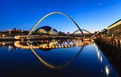 Newcastle - bridges and The Sage
