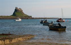 Lindisfarne - restored by Lutyens