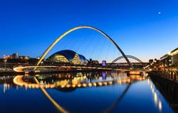 Newcastle's bridges and the Baltic
