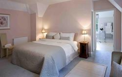 Lodge master bedroom
