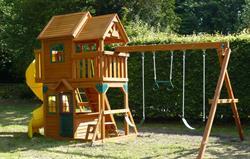 Adventure play area