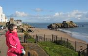 Bright winter day, Tenby