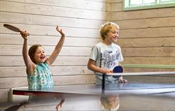 Table-tennis fun!