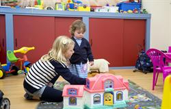 Under 6s playroom