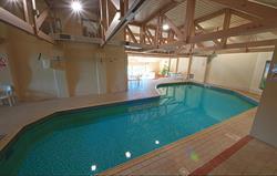 Heated indoor pool at Broomhill