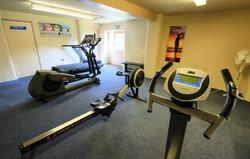 Onsite gym at Broomhill Manor