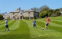 Fun on the Manor House Lawn