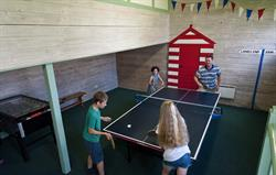 Kids love playing in the games room