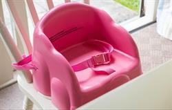 Free toddler equipment:booster seat