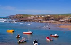 You can walk to Bude Bay