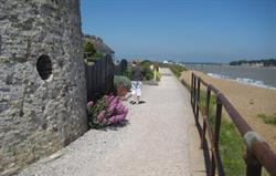 Coastal path at Felixstowe Ferry