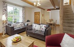 Orchard Cottage - lounge and dining