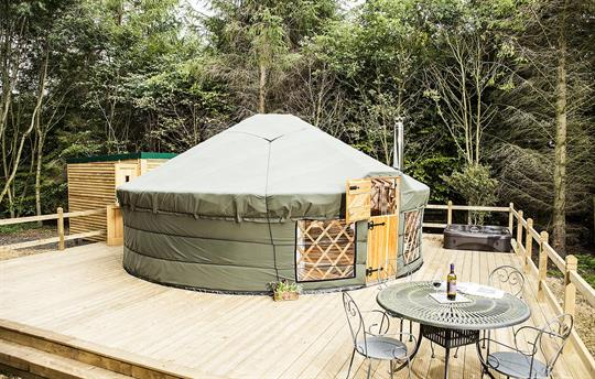 Glamping at Uppergate Farm