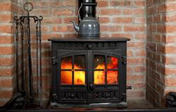 Log burners in all cottages