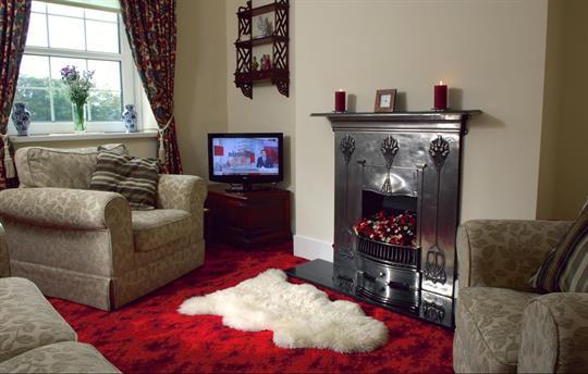 Lounge at Rhos Ddu