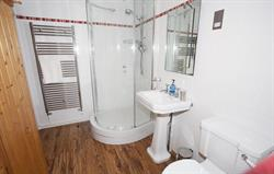 En suite shower and sauna