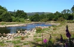 River Breamish near Cheviot Holiday