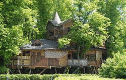 Treehouse restaurant at Alnwick