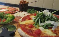 Delicious homemade pizzas delivered