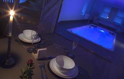 Retreat Swimspa evening
