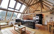 Oak Barn living room