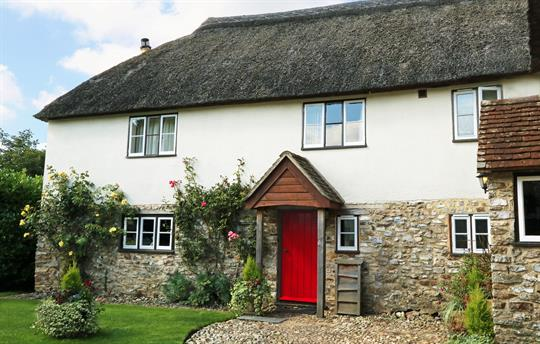 Byre Cottage - traditional thatched