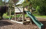 Children's swing and slide