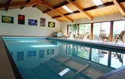 Large indoor heated swimming pool