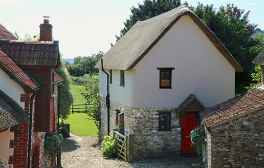 Cider Barn - thatched cottage