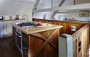 Swallows Loft bespoke kitchen