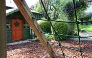 Climbing Frame & Wendy House