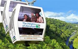 Famous Heights of Abraham Cable Car