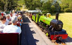 Steam train - 5 minutes away