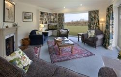Sitting room and private garden