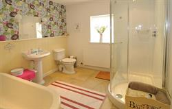 The Barn - main bathroom
