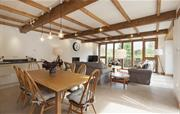 Spacious lounge and dining areas