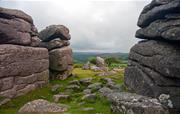 One of many Dartmoor tors nearby