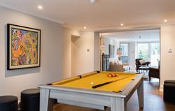 Heathfield pool table in games room