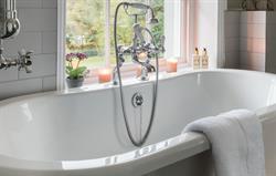 Heathfield bathroom with view