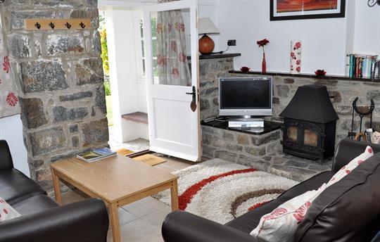 Churn Cottage - Living Room