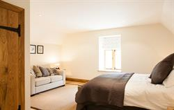 The 'earthy' bedroom