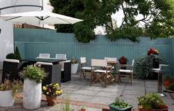 Rear terrace outdoor, relax and bar