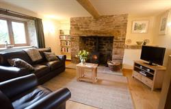 Living room in Mill Cottage