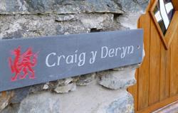 Craig y Deryn entrance