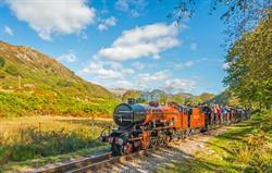 Steam train - stunning scenery