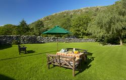 Relax with a garden picnic